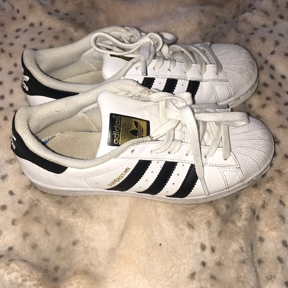 adidas Other - Shell tie adidas superstar 4.5Y or women s 6.5 8234b79791